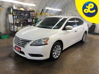 Used 2014 Nissan Sentra SV * SPORT/ECO MODE * Push button ignition * Tinted windows * Phone connect * Voice recognition * Hands free steering wheel controls * Keyless/Passive for sale in Cambridge, ON