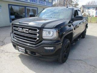 Used 2017 GMC Sierra 1500 GROUND FX ELEVATION - Z71 EDITION 5 PASSENGER 5.3L - VORTEC.. 4X4.. QUAD-CAB.. SHORTY.. HEATED SEATS.. BACK-UP CAMERA.. TRAILER BRAKE.. BLUETOOTH.. for sale in Uxbridge, ON