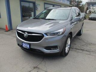 Used 2018 Buick Enclave ALL-WHEEL DRIVE PREMIUM EDITION 7 PASSENGER 3.6L - V6.. CAPTAINS.. 3RD ROW.. LEATHER.. HEATED/AC SEATS.. NAVIGATION.. DUAL SUNROOF.. BACK-UP CAMERA.. for sale in Uxbridge, ON