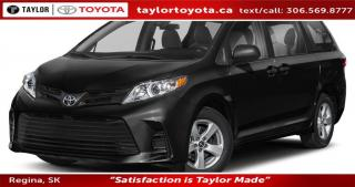 New 2020 Toyota Sienna LE 8-Passenger for sale in Regina, SK