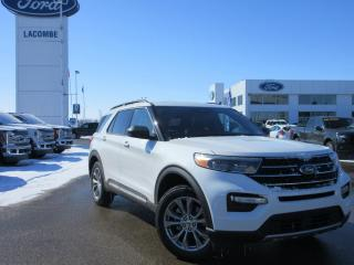 New 2020 Ford Explorer XLT for sale in Lacombe, AB