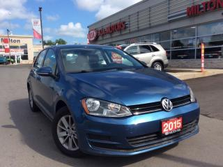 Used 2015 Volkswagen Golf 1.8 TSI Trendline for sale in Milton, ON