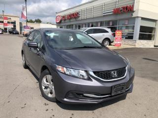 Used 2014 Honda Civic LX for sale in Milton, ON