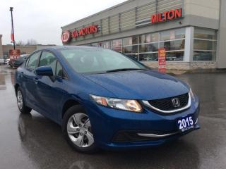 Used 2015 Honda Civic LX for sale in Milton, ON