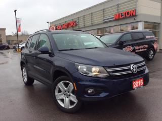 Used 2016 Volkswagen Tiguan COMFORTLINE for sale in Milton, ON