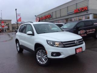 Used 2016 Volkswagen Tiguan Special Edition for sale in Milton, ON