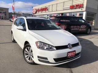 Used 2017 Volkswagen Golf Sportwagen 1.8 TSI Trendline for sale in Milton, ON
