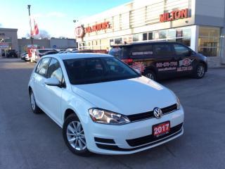 Used 2017 Volkswagen Golf 1.8 TSI Trendline for sale in Milton, ON