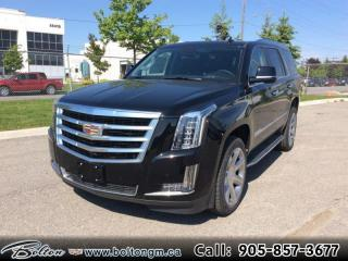 New 2020 Cadillac Escalade Luxury - Leather Seats for sale in Bolton, ON