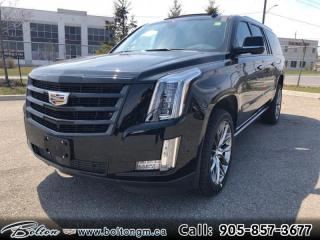 New 2020 Cadillac Escalade ESV Premium Luxury - Leather Seats for sale in Bolton, ON