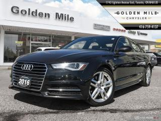 Used 2016 Audi A6 2.0T Progressiv-QUATTRO|ALLOYS|NAVI | BACK UP CAM|HEATED SEATS for sale in North York, ON