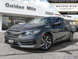 Used 2016 Honda Civic EX|Back up Cam|Sunroof for sale in North York, ON