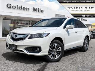 Used 2016 Acura RDX Elite Pkg|LEATHER|SUNROOF|NAVI|HTD SEATS| for sale in North York, ON