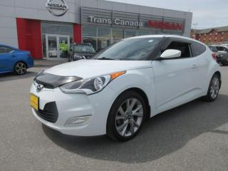 Used 2016 Hyundai Veloster for sale in Peterborough, ON