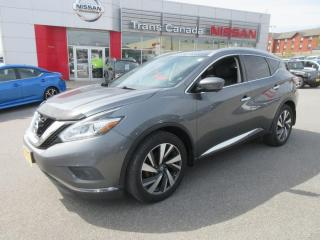 Used 2016 Nissan Murano for sale in Peterborough, ON