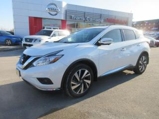 Used 2017 Nissan Murano for sale in Peterborough, ON