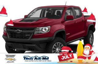New 2020 Chevrolet Colorado ZR2 for sale in Tilbury, ON