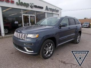 New 2020 Jeep Grand Cherokee Summit for sale in Arnprior, ON