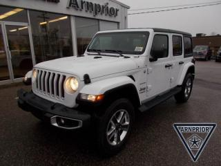 New 2020 Jeep Wrangler Unlimited Sahara for sale in Arnprior, ON