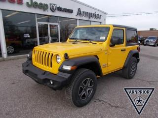 New 2020 Jeep Wrangler Sport S for sale in Arnprior, ON