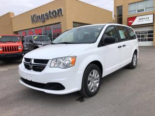 New 2019 Dodge Grand Caravan CANADA VALUE PACKAGE for sale in Kingston, ON
