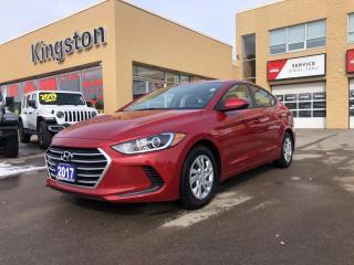 Used 2017 Hyundai Elantra LE - Heated Seats! for sale in Kingston, ON