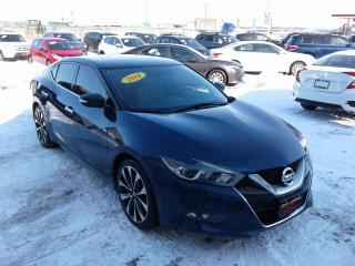 Used 2016 Nissan Maxima SR for sale in Oak Bluff, MB