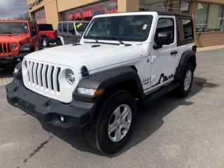 New 2020 Jeep Wrangler Sport S for sale in Kingston, ON