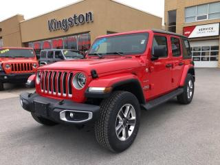 New 2020 Jeep Wrangler Unlimited Sahara for sale in Kingston, ON