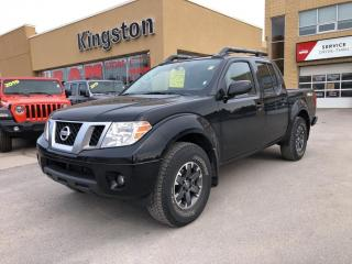 Used 2018 Nissan Frontier PRO-4X 4X4 - Nav, Sunroof, Htd Seats, Backup Cam! for sale in Kingston, ON