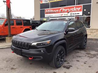 New 2020 Jeep Cherokee TRAILHAWK ELITE 4X4 / NAPPA LEATHER / NAV / PANO R for sale in Milton, ON