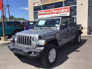 New 2020 Jeep Gladiator SPORT S 4X4 / LEASE FOR $225 BW, 39 MTHS, $2200 DO for sale in Milton, ON