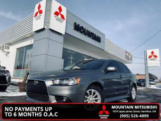 Used 2015 Mitsubishi Lancer Sportback SE  - Bluetooth - $37.84 /Wk for sale in Hamilton, ON
