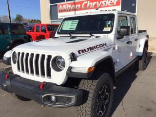 New 2020 Jeep Gladiator RUBICON 4X4 / LEASE FOR $275 BW, 39 MTHS, $2200 DO for sale in Milton, ON