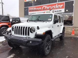 New 2020 Jeep Wrangler WRANGLER SAHARA ALTITUDE 4X4 / 2 TOPS / SAFETYTEC for sale in Milton, ON