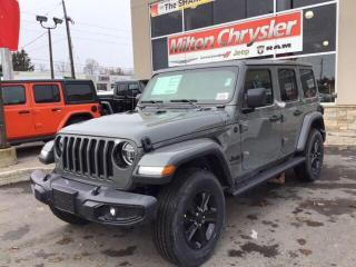 New 2020 Jeep Wrangler UNLIMTED SAHARA ALTITUDE 4X4 / LEATHER / LED / NAV for sale in Milton, ON