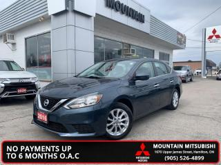 Used 2016 Nissan Sentra 1.8 SV  - Bluetooth -  Heated Seats - $45.18 /Wk for sale in Hamilton, ON