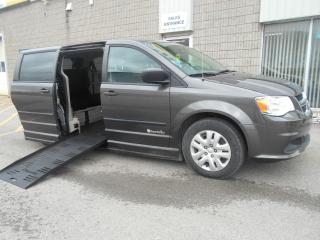 Used 2016 Dodge Grand Caravan SE-Wheelchair Accessible Side Entry-Power for sale in London, ON