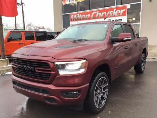 New 2020 RAM 1500 SPORT CREW 4X4 / 12 INCH NAV / 22 INCH WHEELS for sale in Milton, ON