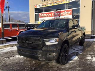 New 2020 RAM 1500 SPORT NIGHT CREW 4X4 / LEATHER / 12 INCH RADIO / P for sale in Milton, ON