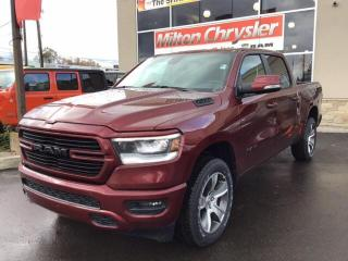 New 2020 RAM 1500 SPORT CREW 4X4 / REMOTE START / HEATED SEATS AND S for sale in Milton, ON