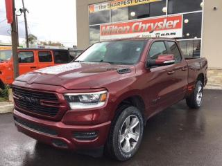New 2020 RAM 1500 SPORT 4X4 / HEATED SEATS / 8.4 INCH TOUCHSCREEN / for sale in Milton, ON