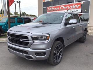 New 2020 RAM 1500 SPORT CREW 4X4 / 12 INCH NAV / LEVEL 2 / ADV SAFET for sale in Milton, ON