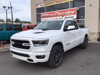 New 2020 RAM 1500 SPORT 4X4 / LEVEL 2 / SPORT HOOD / 22 INCH WHEELS for sale in Milton, ON