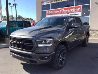New 2020 RAM 1500 SPORT CREW 4X4 / 12 INCH NAV / LEVEL 2 / ADVANCED for sale in Milton, ON