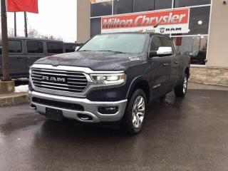 New 2020 RAM 1500 LONGHORN CREW 4X4 / ECODIESEL / AIR SUSPENSION for sale in Milton, ON