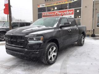 New 2020 RAM 1500 SPORT CREW 4X4 / PANO ROOF / LEATHER & SOUND GRP for sale in Milton, ON