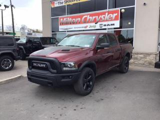 New 2020 RAM 1500 Classic WARLOCK CREW 4X4/SPORT HOOD for sale in Milton, ON