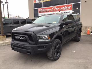 New 2020 RAM 1500 Classic WARLOCK CREW 4X4 / LUXURY GRP / SPORT HOOD / SUNRO for sale in Milton, ON