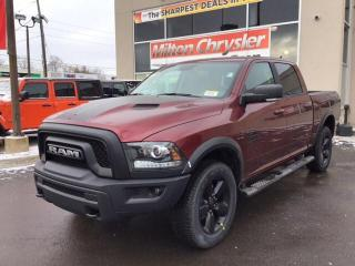 New 2019 RAM 1500 Classic WARLOCK 4X4 CREW V8 / NAV / RAMBOX / HITCH / STEPS for sale in Milton, ON